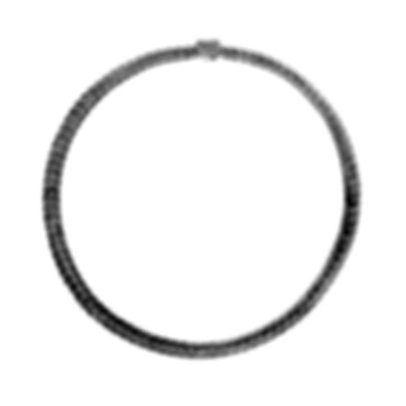 John Hardy Modern Chain Sterling Silver Necklace NB98000X18
