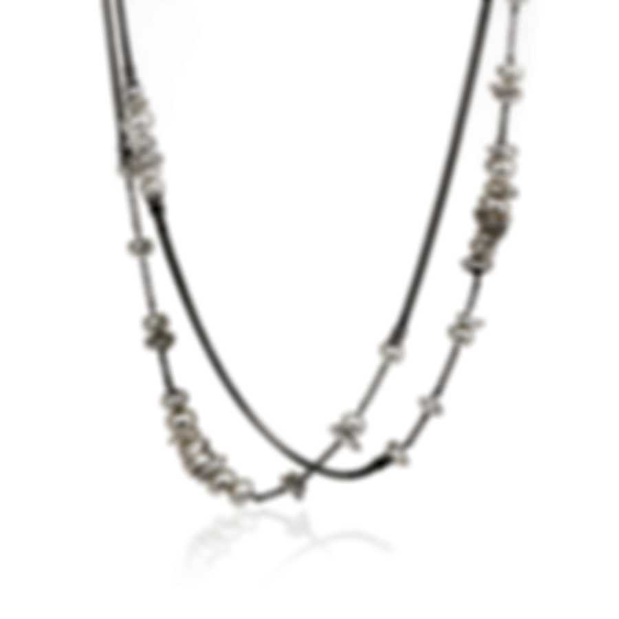 John Hardy Classic Chain Sterling Silver Freshwater Pearl Necklace NB90254X36