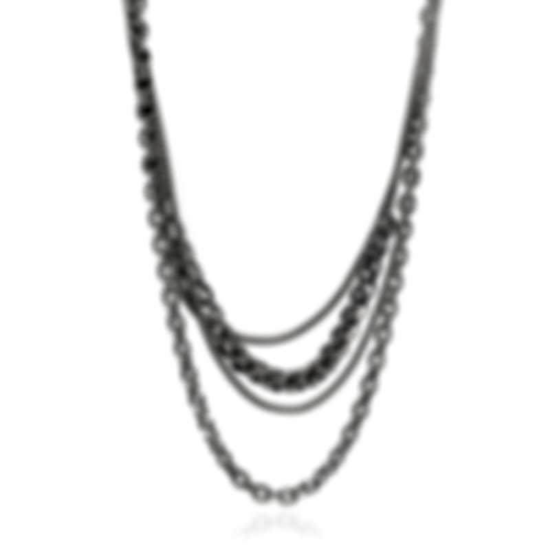 John Hardy Asli Sterling Silver Necklace NB90370X14-16