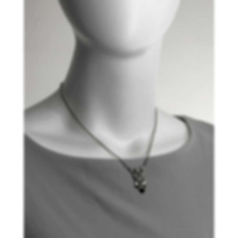 John Hardy Legends Naga Sterling Silver Diamond 0.26ct Necklace NBP601362DIX16