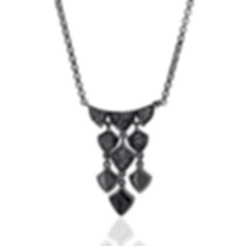 John Hardy Legends Naga Sterling Silver Diamond 0.26ct Necklace NBP601362DIX16-18