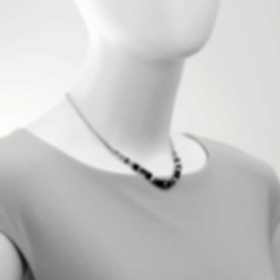 John Hardy Classic Chain Silver Rainbow Moonstone Necklace NBS902241HEMIRMX16-18
