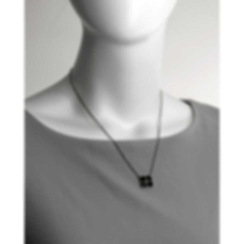 John Hardy Modern Chain Sterling Silver Sapphire Necklace NBS9995954BLSX16-18