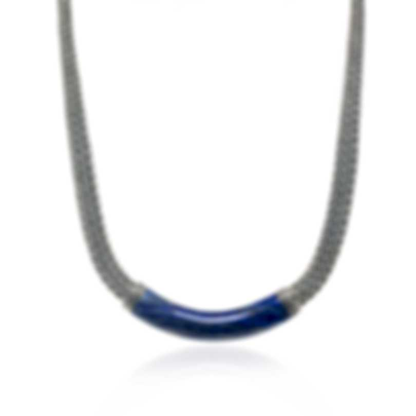 John Hardy Classic Chain Sterling Silver And Lapis Necklace NBS9996951LPZX16