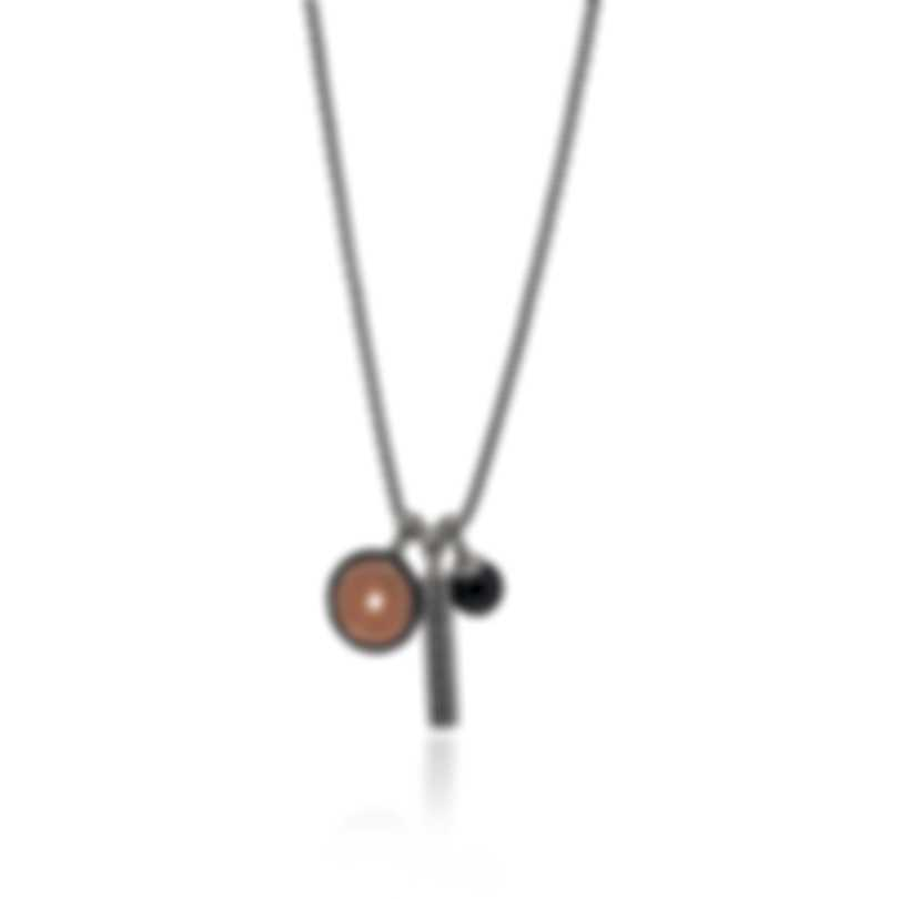 John Hardy Classic Chain Sterling Silver, Black Onyx Necklace NMS900611OZBONX26