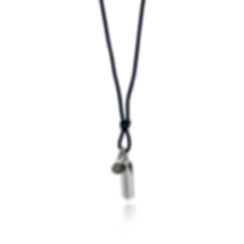 John Hardy Classic Chain Sterling Silver And Pyrite Necklace NMS9000571BLPYX26