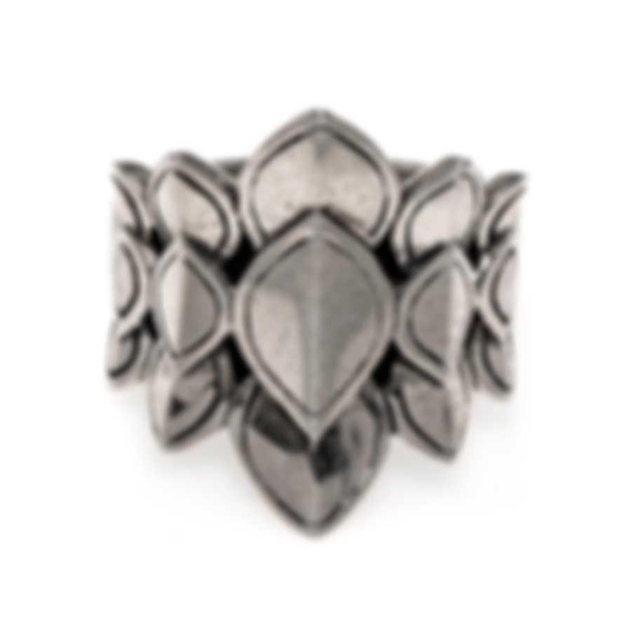 John Hardy Legends Naga Sterling Silver Ring Sz 7 RB60123X7