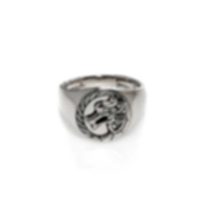 John Hardy Legends Naga Sterling Silver Ring Sz 7 RB60181X7