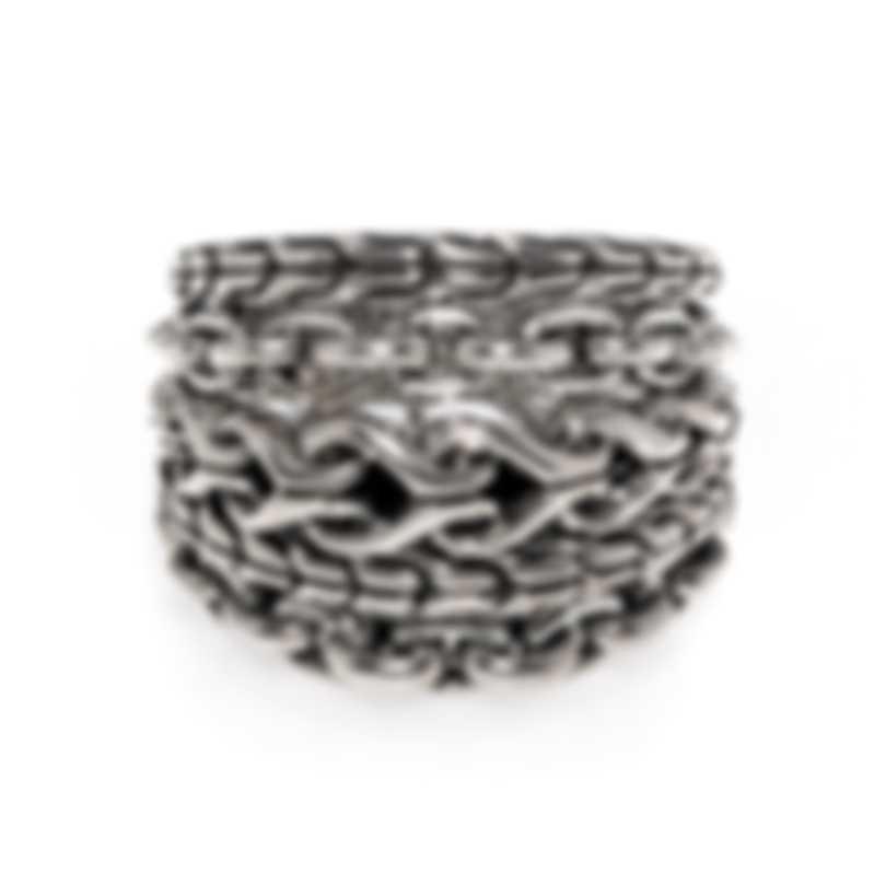 John Hardy Asli Sterling Silver Ring Sz 7 RB90378X7