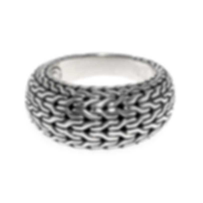 John Hardy Classic Chain Sterling Silver Ring Sz 7 RB93300X7