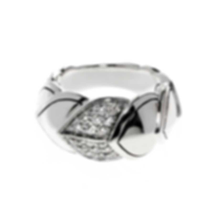 John Hardy Legends Naga Sterling Silver Diamond 0.31ct Ring Sz 7 RBP664822DIX7