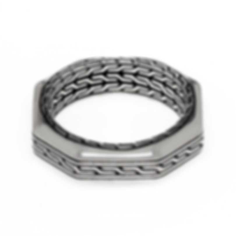 John Hardy Classic Sterling Silver Ring Sz 10 RM90623X10