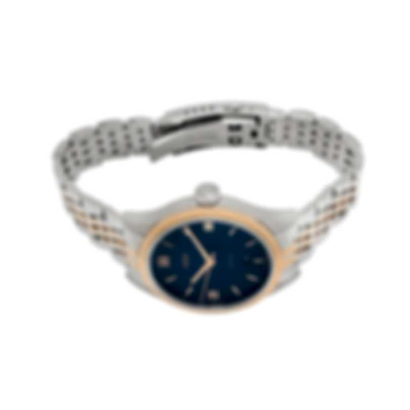 Oris Classic Date Stainless Steel & Gold Plated Blue Dial Automatic Men's Watch 01 733 7719 4375-07 8 20 12