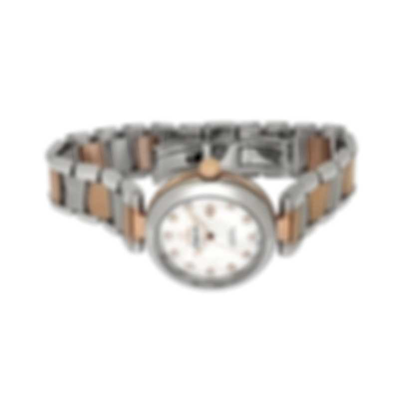 Omega De Ville Ladymatic Two Tone Diamond Automatic Ladies Watch 425.20.34.20.55.004