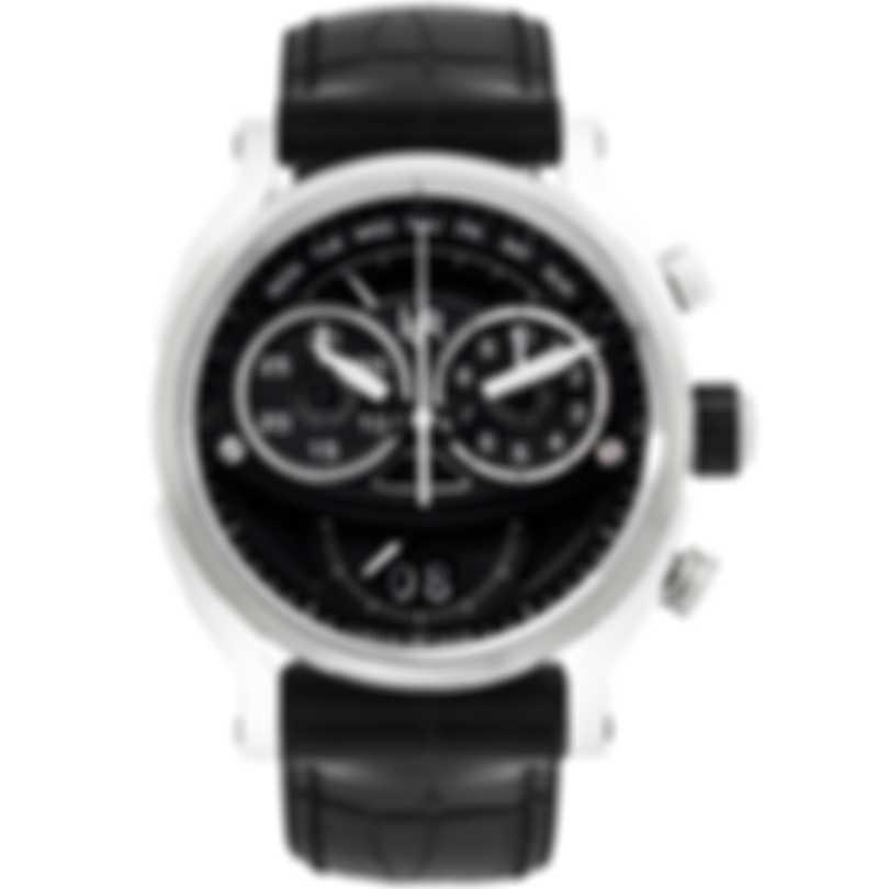 L&JR Chronograph Big Date Retrograde Day Men's Watch S1502