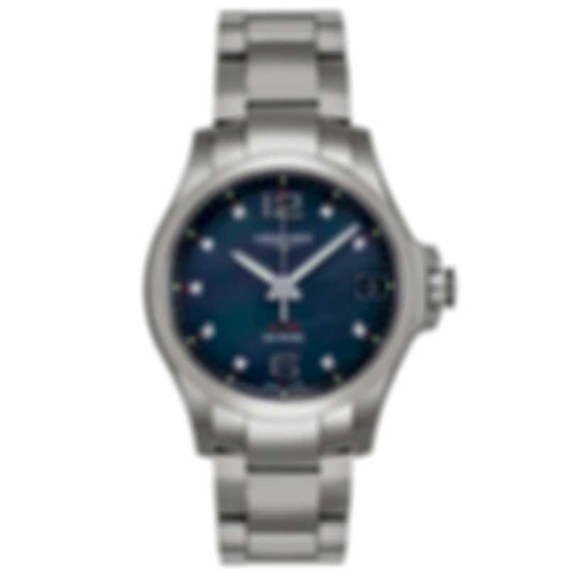 Longines Conquest V.H.P Diamond Quartz Ladies Watch L33164886