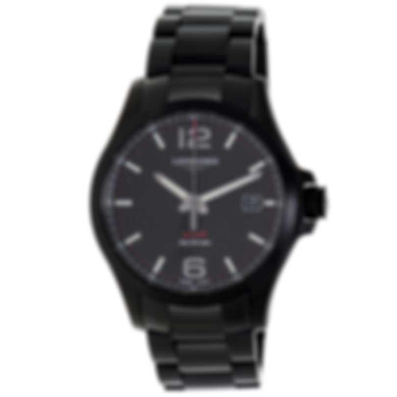 Longines Conquest V.H.P Stainless Steel Quartz Men's Watch L37262666