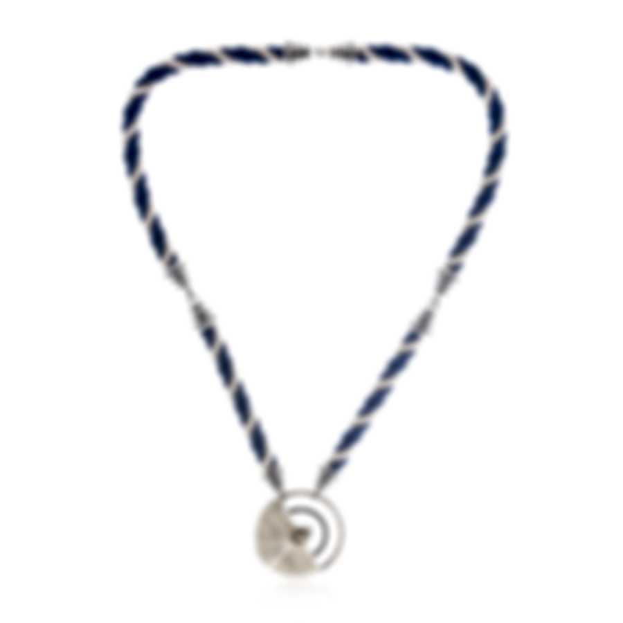 Lalique Mockingbird 18k White Gold Diamond 0.12ct Necklace 10545700