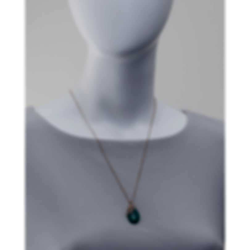 Luca Carati 18k Yellow Gold Diamond 0.44ct And Agate Necklace G1035C-BF3B