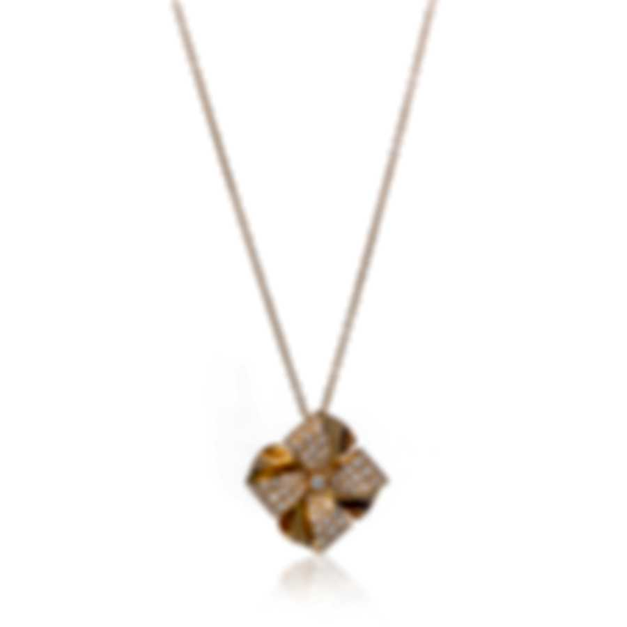 Luca Carati 18k Yellow Gold Diamond 1.73ct Necklace G1045C-C46F