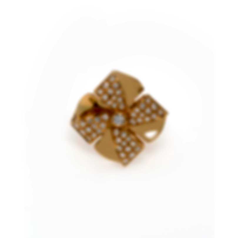 Luca Carati 18k Yellow Gold Diamond 0.71ct Ring Sz 7.5 G1048A-C1BB