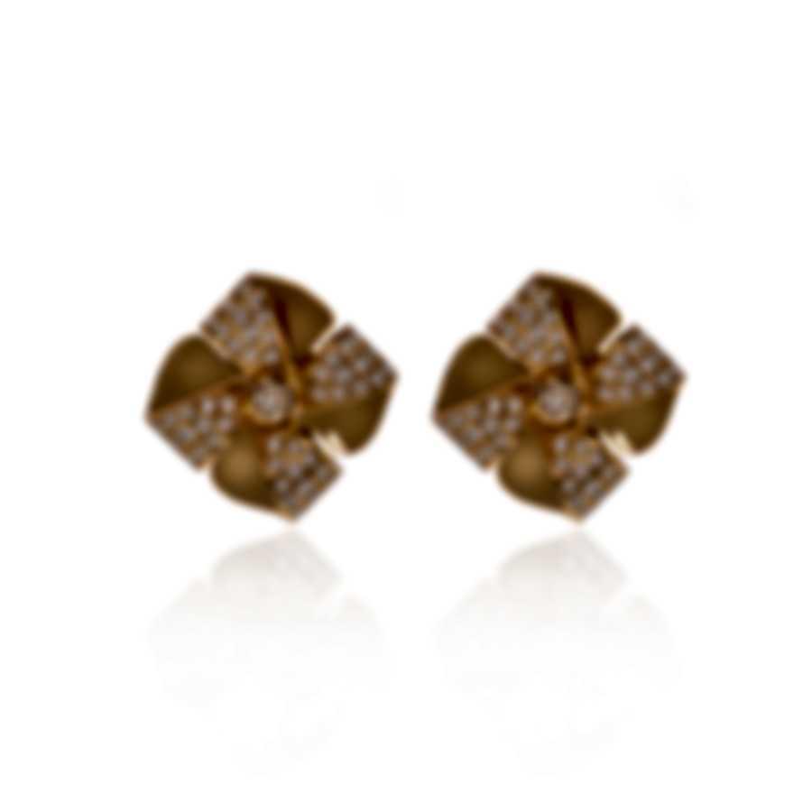 Luca Carati 18k Yellow Gold Diamond 0.99ct Earrings G1050B-C4C2