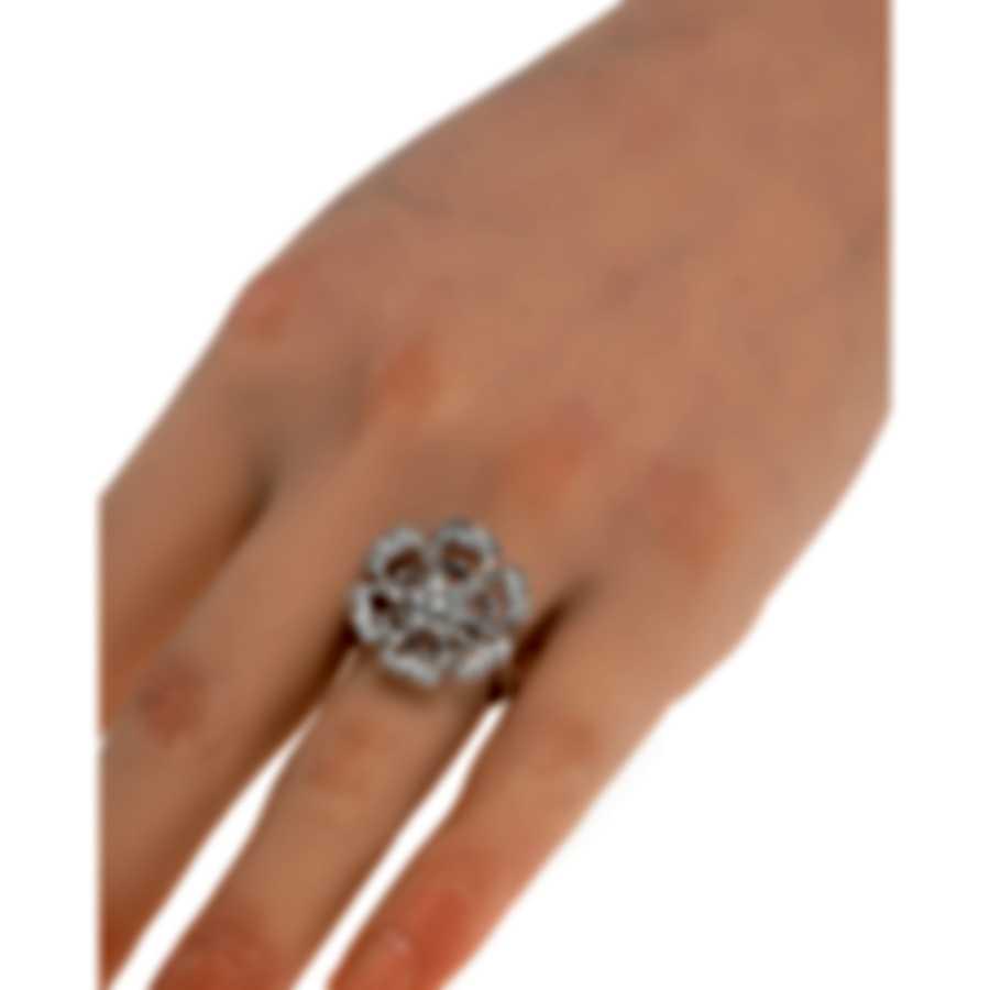 Luca Carati 18k White Gold Diamond 0.68ct Ring Sz 7.25 G1054A-BFFD