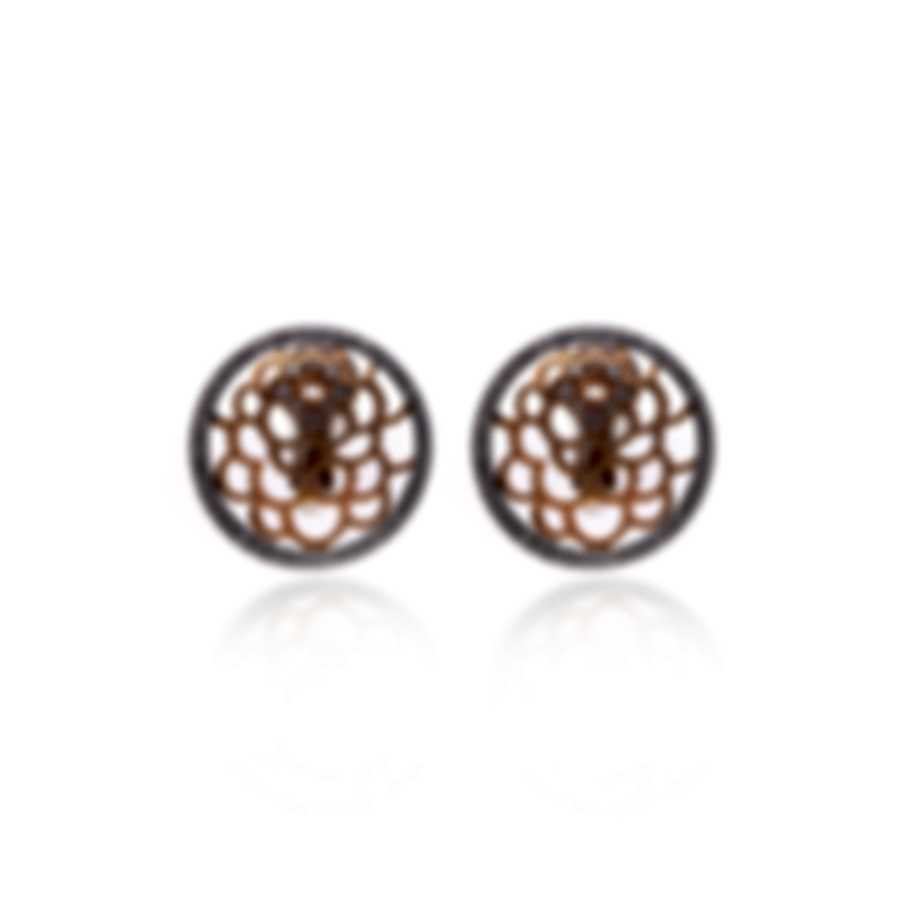 Luca Carati 18k Rose And White Gold Diamond 1.57ct Earrings G1102B-C4AB