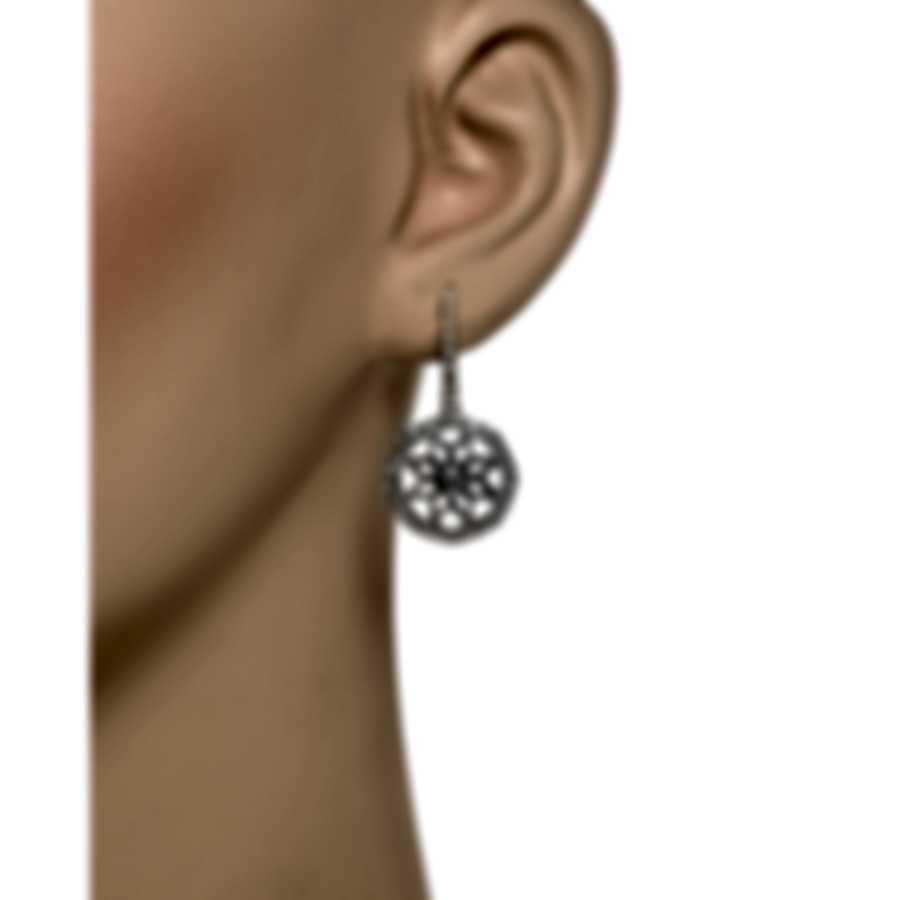 Luca Carati 18k White Gold Diamond 1.06ct Earrings G883B-B325