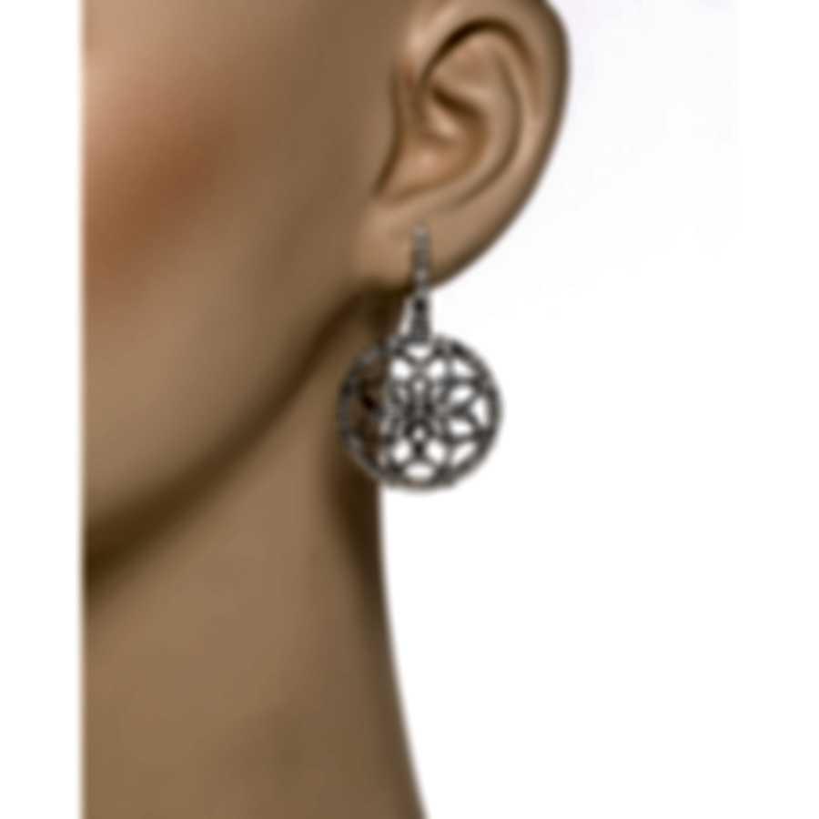 Luca Carati 18k White Gold Diamond 2.66ct Earrings G880B-B282