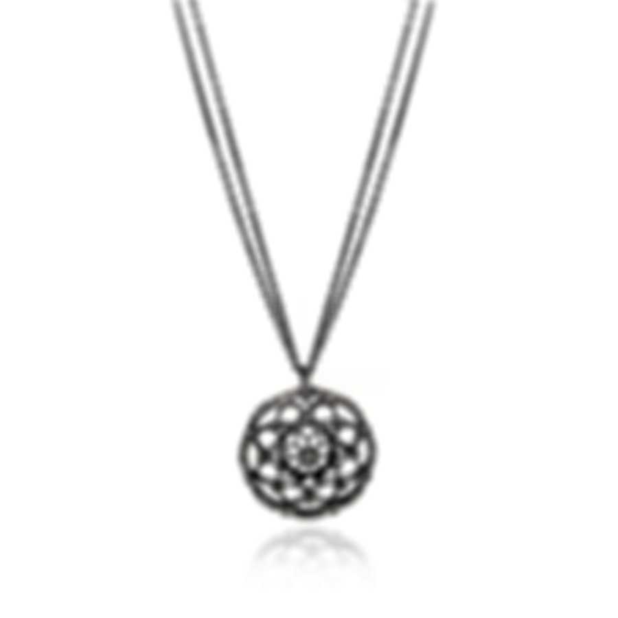 Luca Carati 18k White Gold Diamond 1.78ct Necklace G880CH-B281