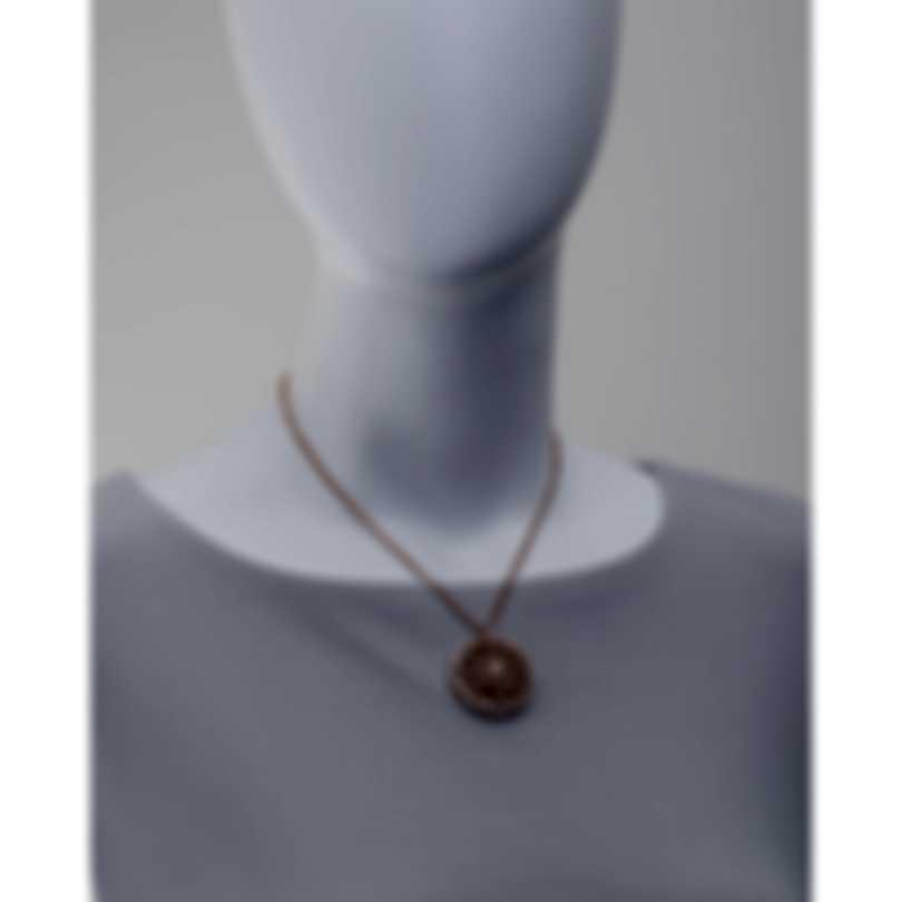 Luca Carati 18k Rose Gold Diamond 1.66ct Necklace G899C-C67C