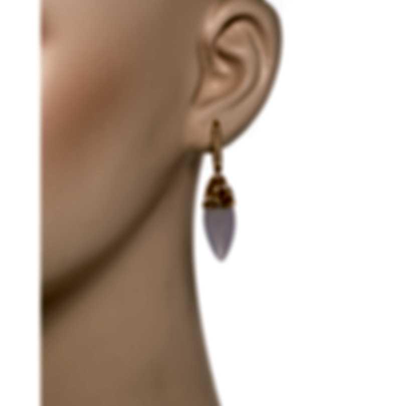 Luca Carati G951B - EARRINGS  -AU 750‰ 7,21 -DM 0,45 -SD 4,40