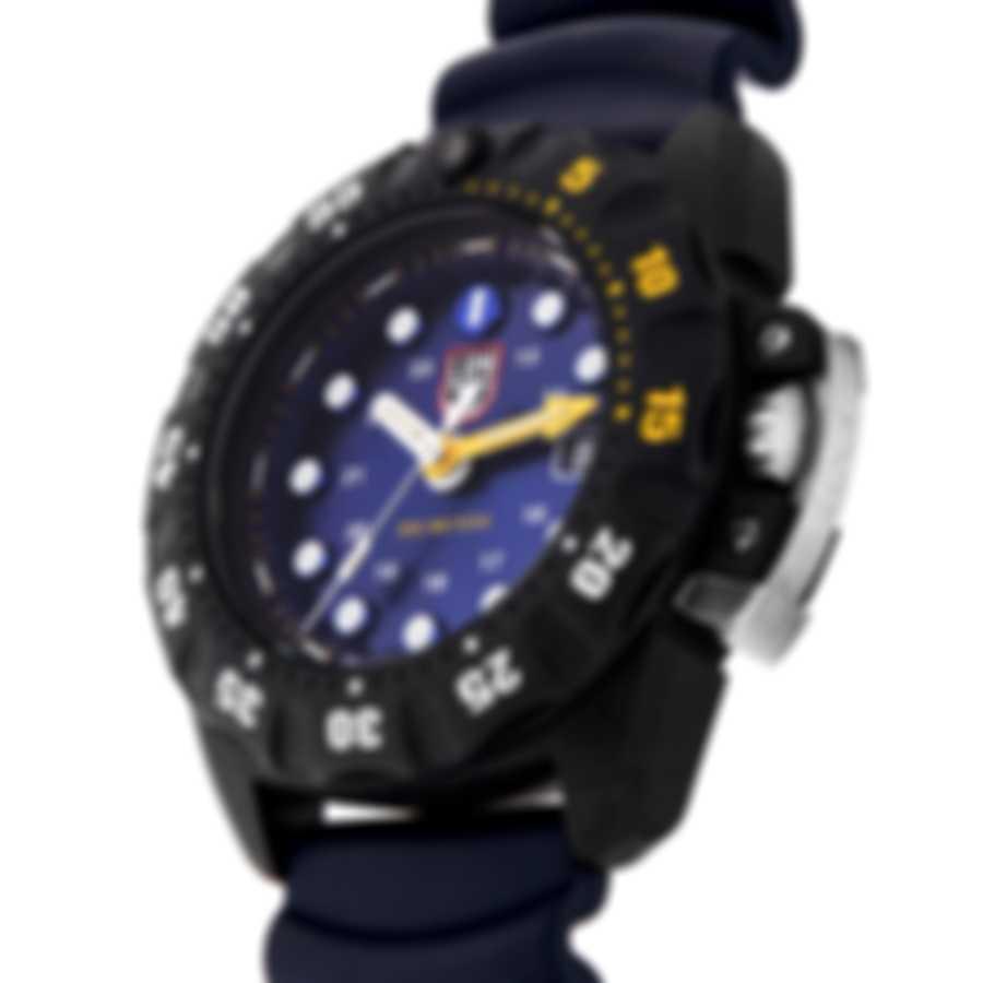 Luminox Scott Cassell Deep Dive Blue Quartz Men's Watch XS.1553