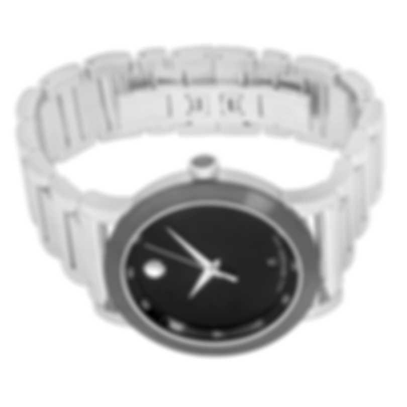 Movado Museum Stainless Steel Quartz Men's Watch 606604