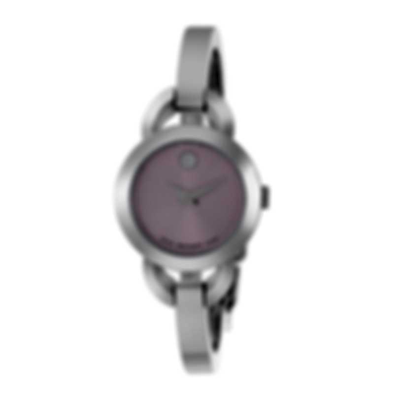 Movado Rondiro Stainless Steel Quartz Ladies Watch 606797