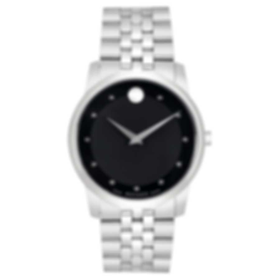 Movado Museum Classic Diamond Quartz Men's Watch 606878