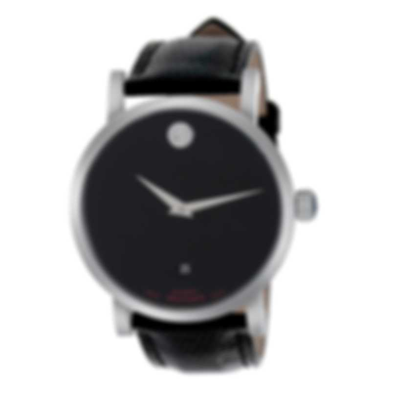Movado Red Label Stainless Steel Automatic Men's Watch 606114