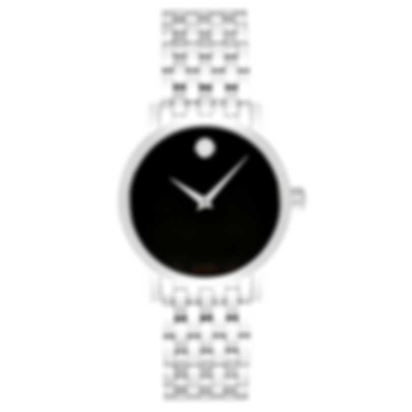 Movado Red Label Stainless Steel Automatic Men's Watch 606115