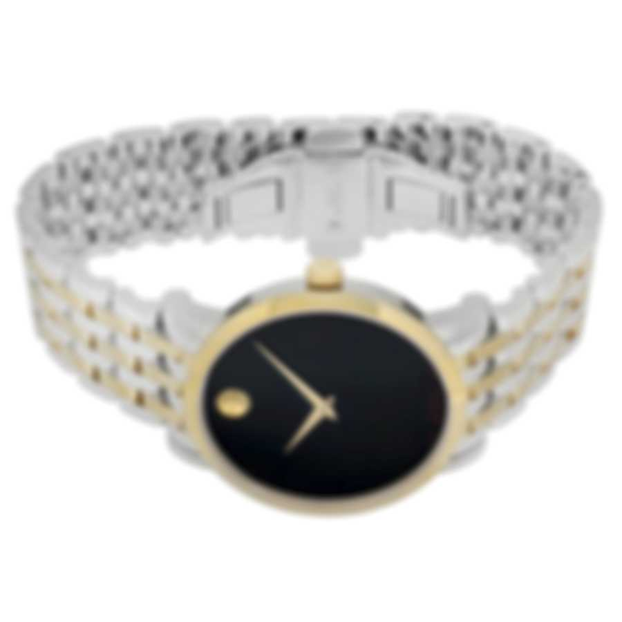 Movado Red Label Two Tone Automatic Men's Watch 607008