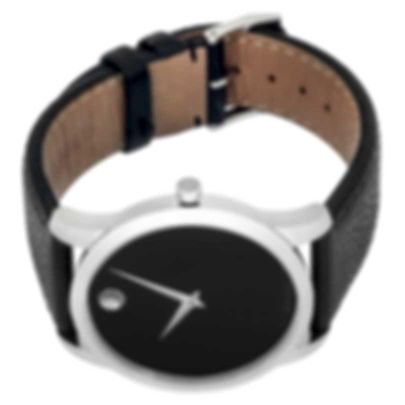 Movado Museum Classic Stainless Steel Quartz Men's Watch 607012