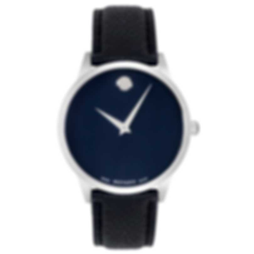Movado Museum Classic Blue Dial Quartz Men's Watch 607013