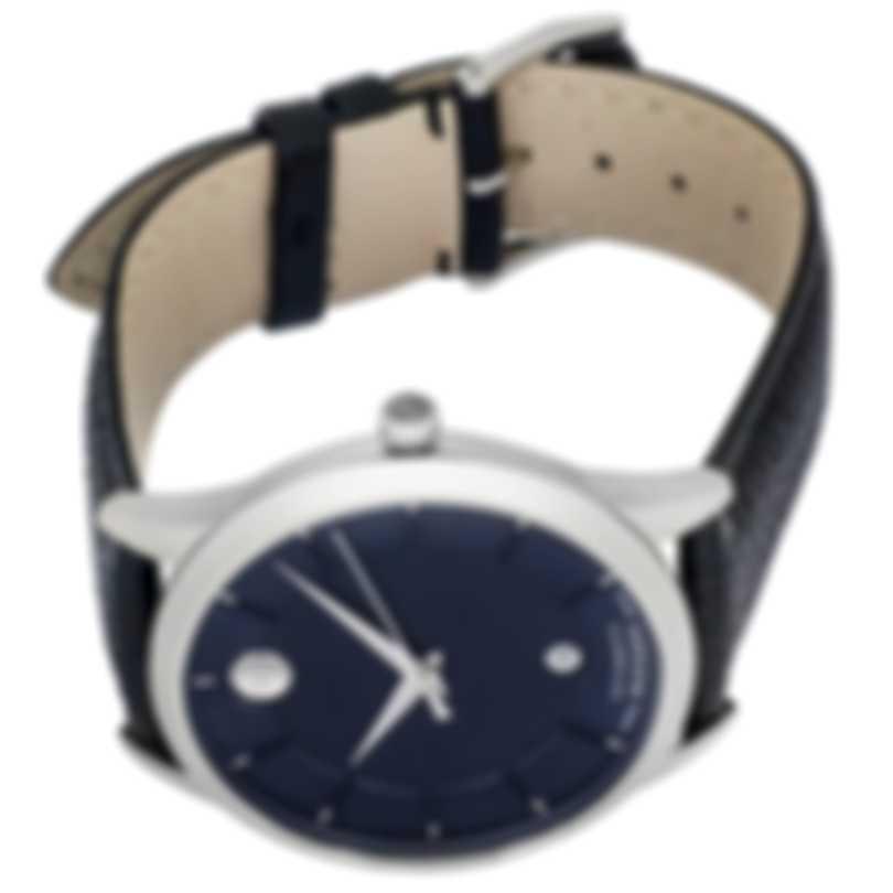 Movado 1881 Blue Dial Automatic Men's Watch 607020