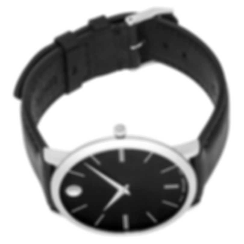 Movado Ultra Slim Stainless Steel Quartz Men's Watch 607086