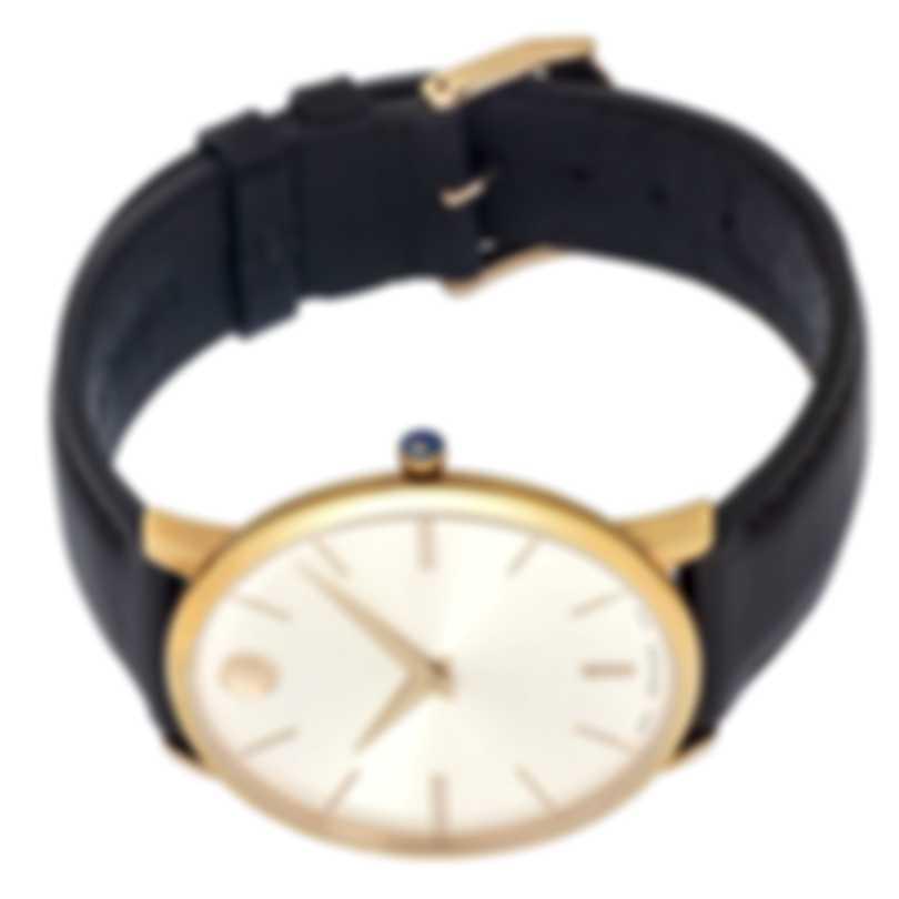 Movado Ultra Slim Stainless Steel Quartz Men's Watch 607089