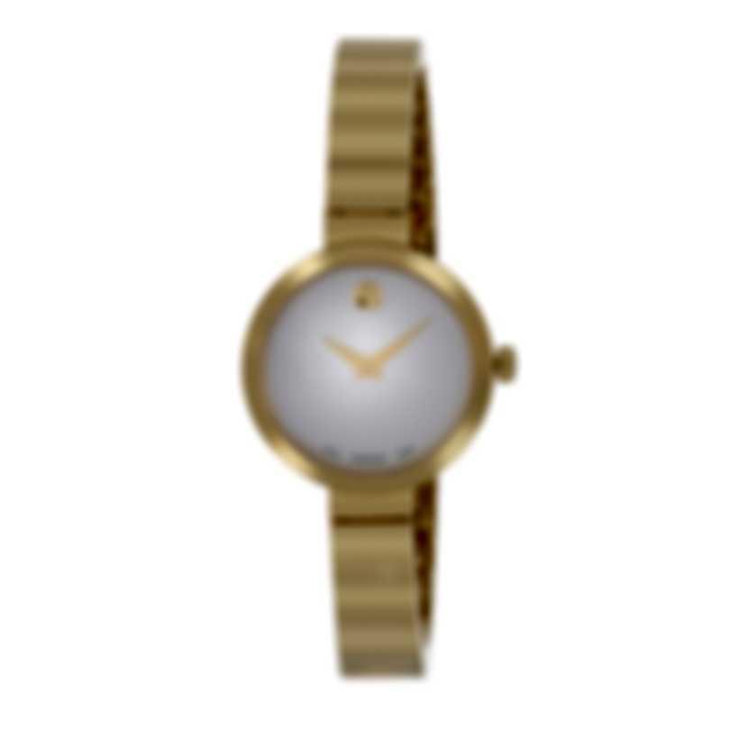 Movado Novella Stainless Steel Quartz Ladies Watch 607111