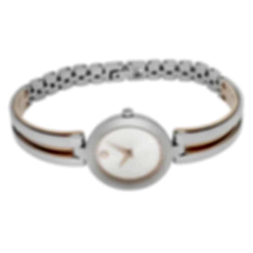 Movado Aleena Two Tone Quartz Ladies Watch 607151