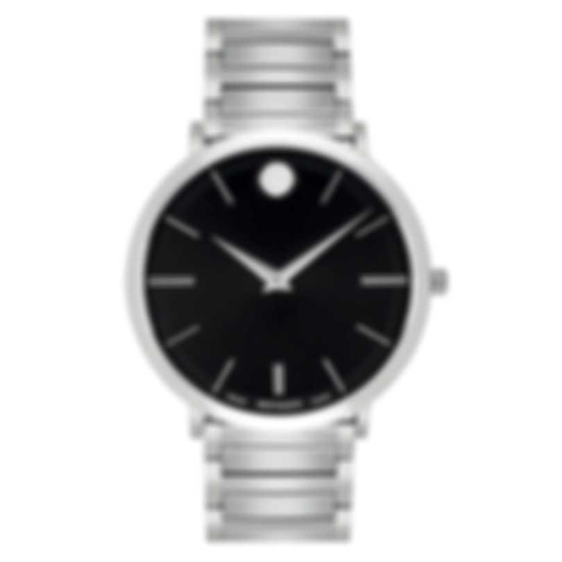 Movado Ultra Slim Stainless Steel Quartz Men's Watch 607167