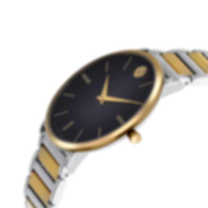 Movado Ultra Slim Stainless Steel Quartz Men's Watch 607169