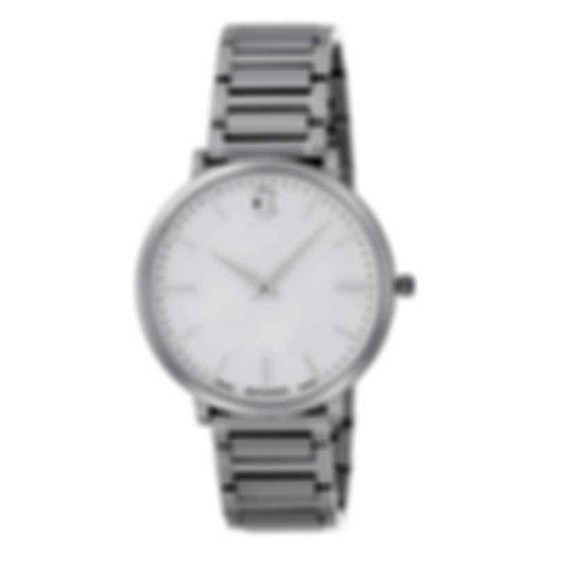 Movado Ultra Slim Mother Of Pearl Quartz Ladies Watch 607170